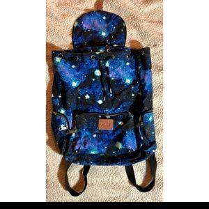 Pink Victoria Secret Galaxy Backpack Rare